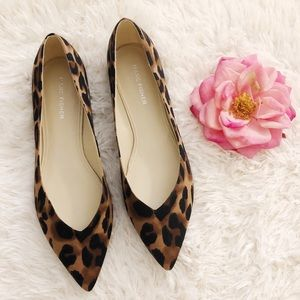 NEW MARC FISHER Leopard Flats